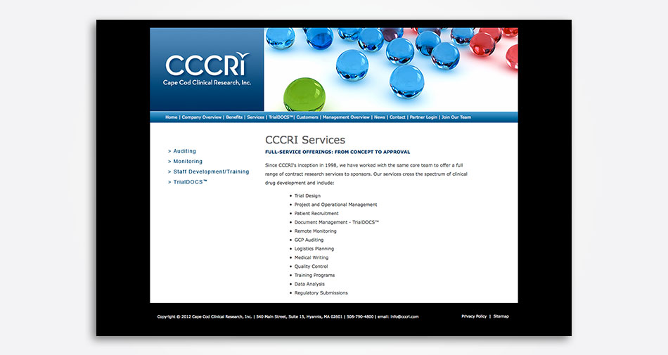 Cape-Cod-Clinical-Research-Inc-website