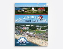 Falmouth Road Race poster design