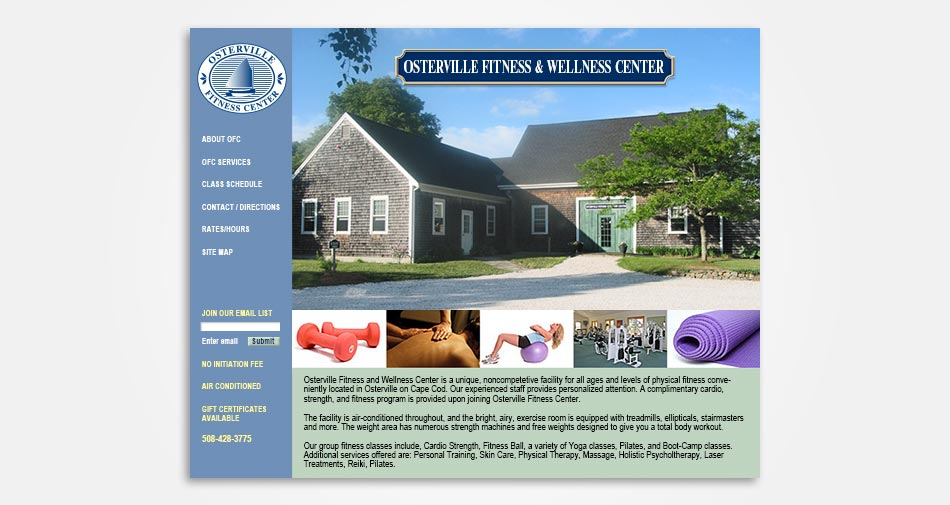 Osterville-Fitness-and-Wellness-Center-website