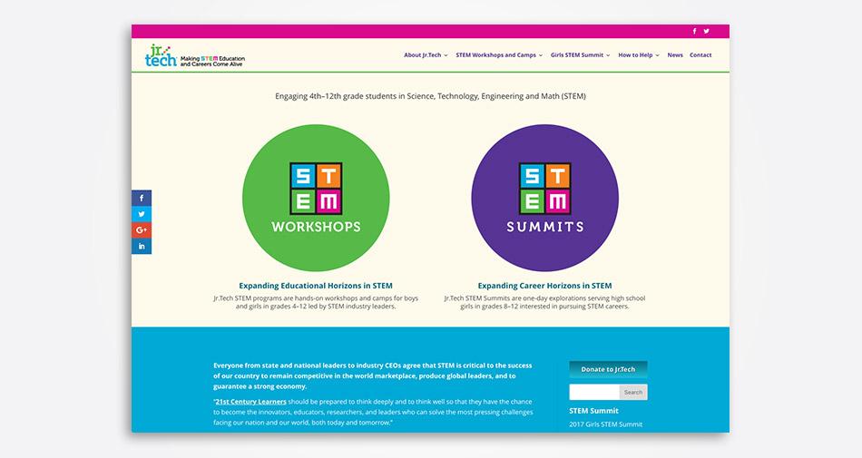 Jr.Tech.org home page