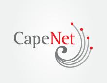 CapeNet branding and identity