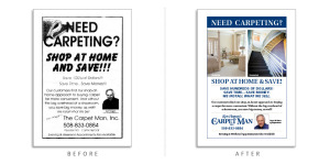 Extreme Design Makeovers Ken-Hogan's The Carpet Man-ad